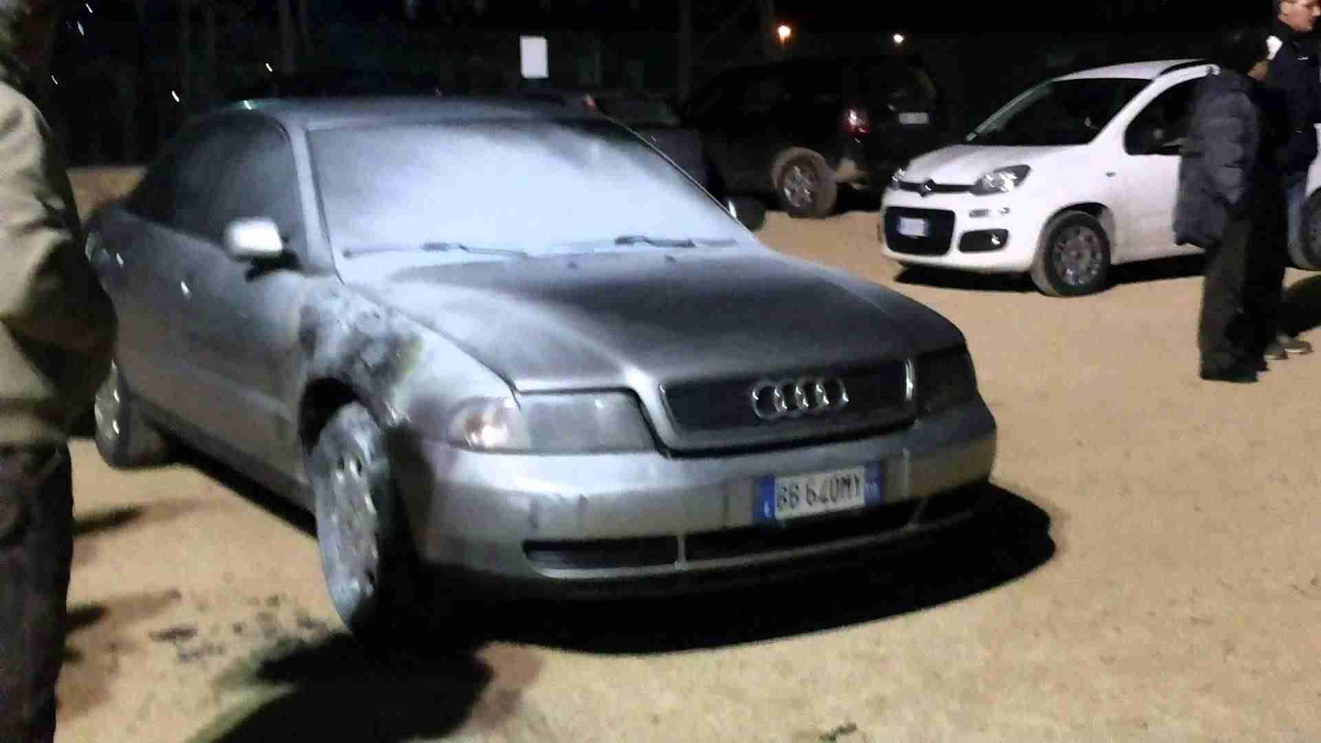 Tentativo di rogo all'auto dell'ex vice sindaco Corrado Assenza