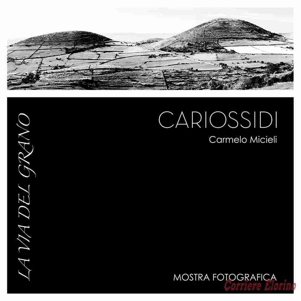 """""""La via del grano"""", la mostra fotografica di Carmelo Micieli debutta in cantina"""