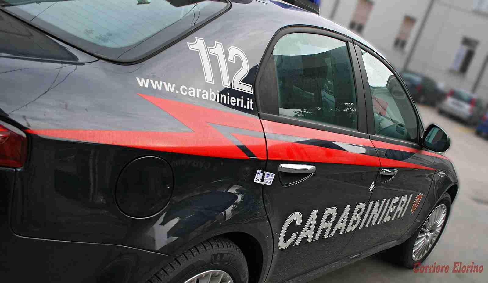 Lite violenta in famiglia: donna in ospedale, intervengono i Carabinieri