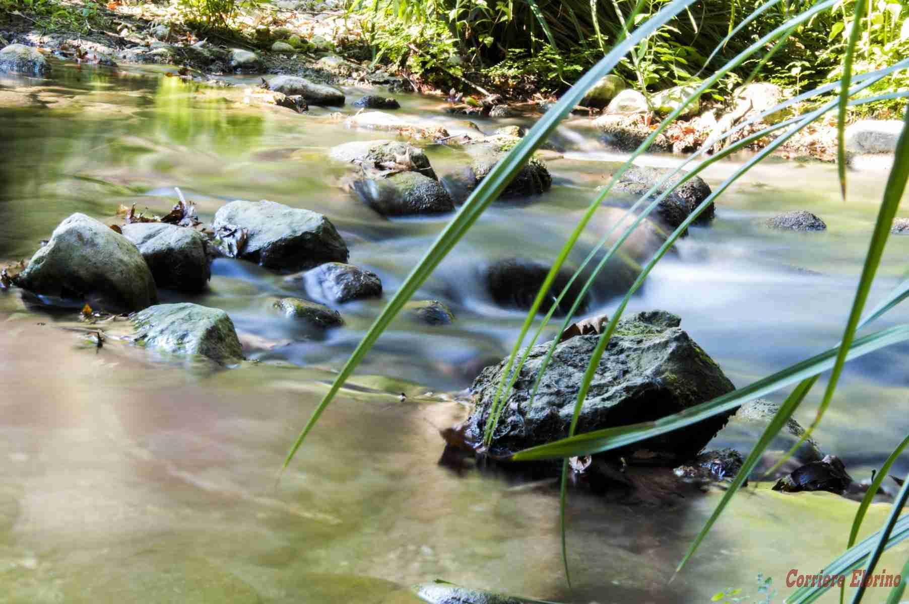 """Rubrica fotografica """"Diaframma"""": L'acqua come """"seta"""""""