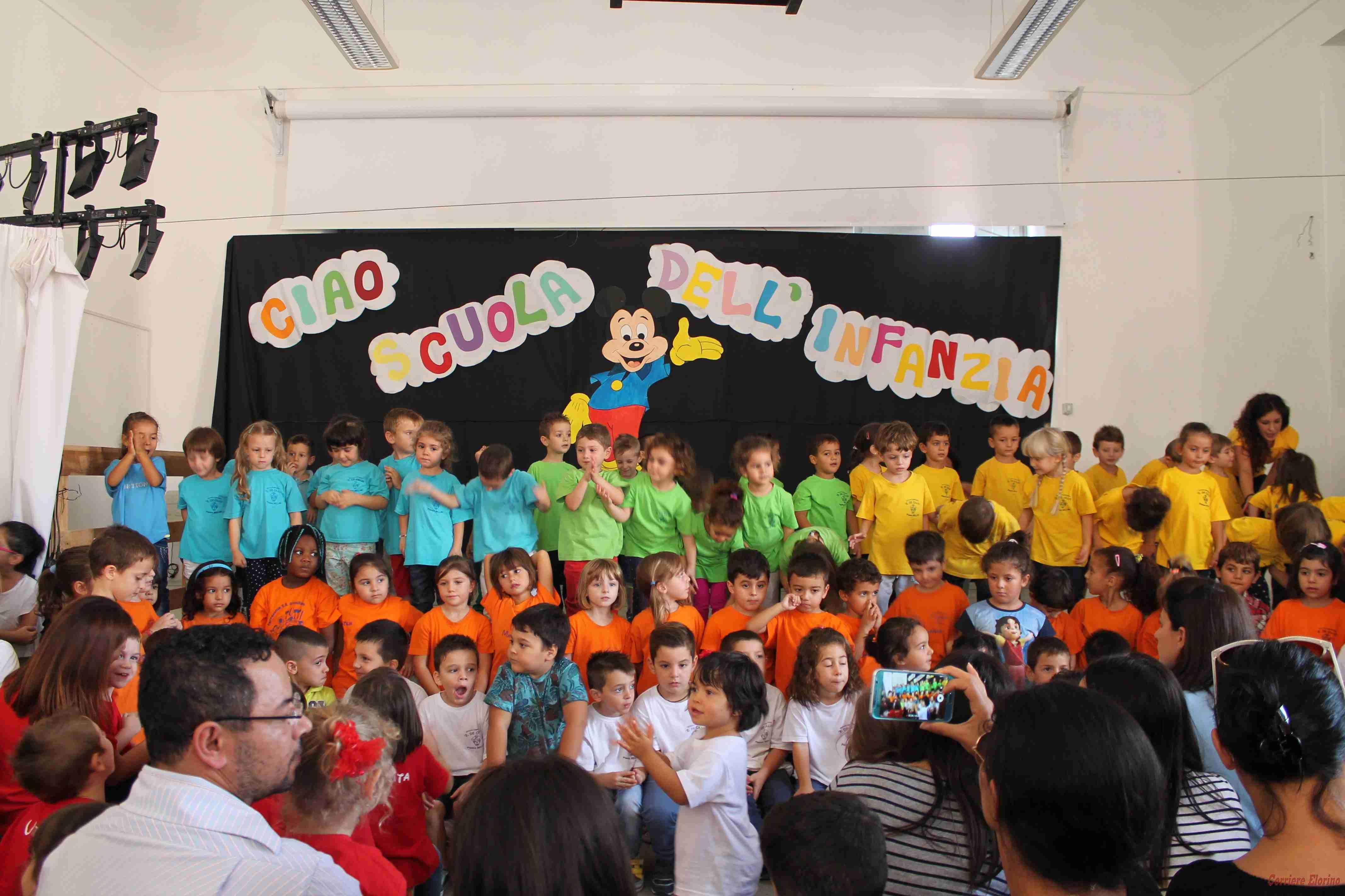 """Festa dei nonni e accoglienza alla scuola dell'infanzia del plesso """"Bellini"""""""