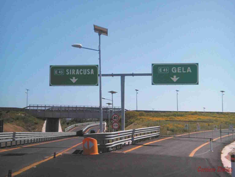 Completamento Autostrada Siracusa-Gela, incontro operativo. Da domani riaperto il tratto Noto-Rosolini
