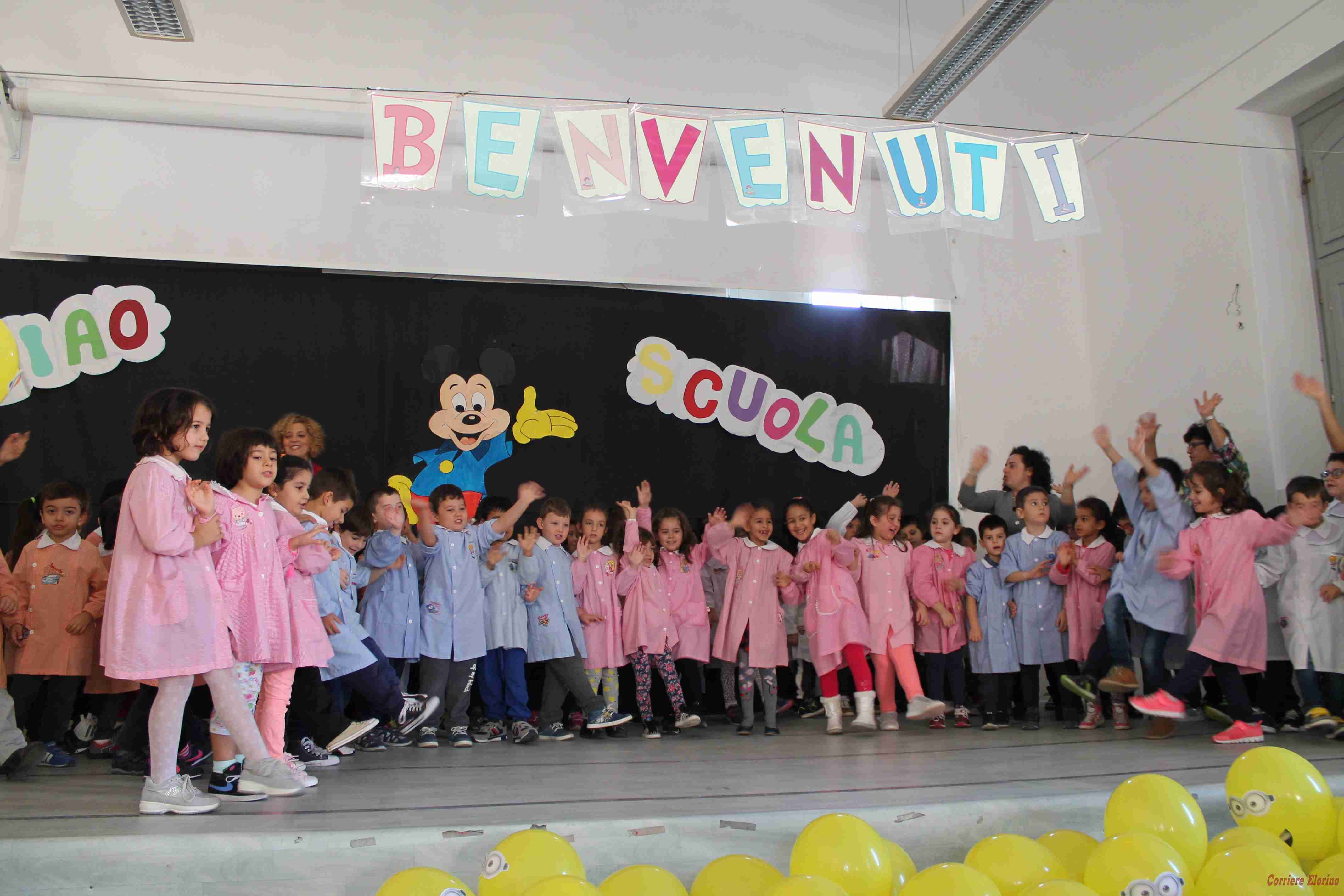 """Alla """"De Cillis"""" il progetto """"Accoglienza a scuola dei più piccoli"""""""