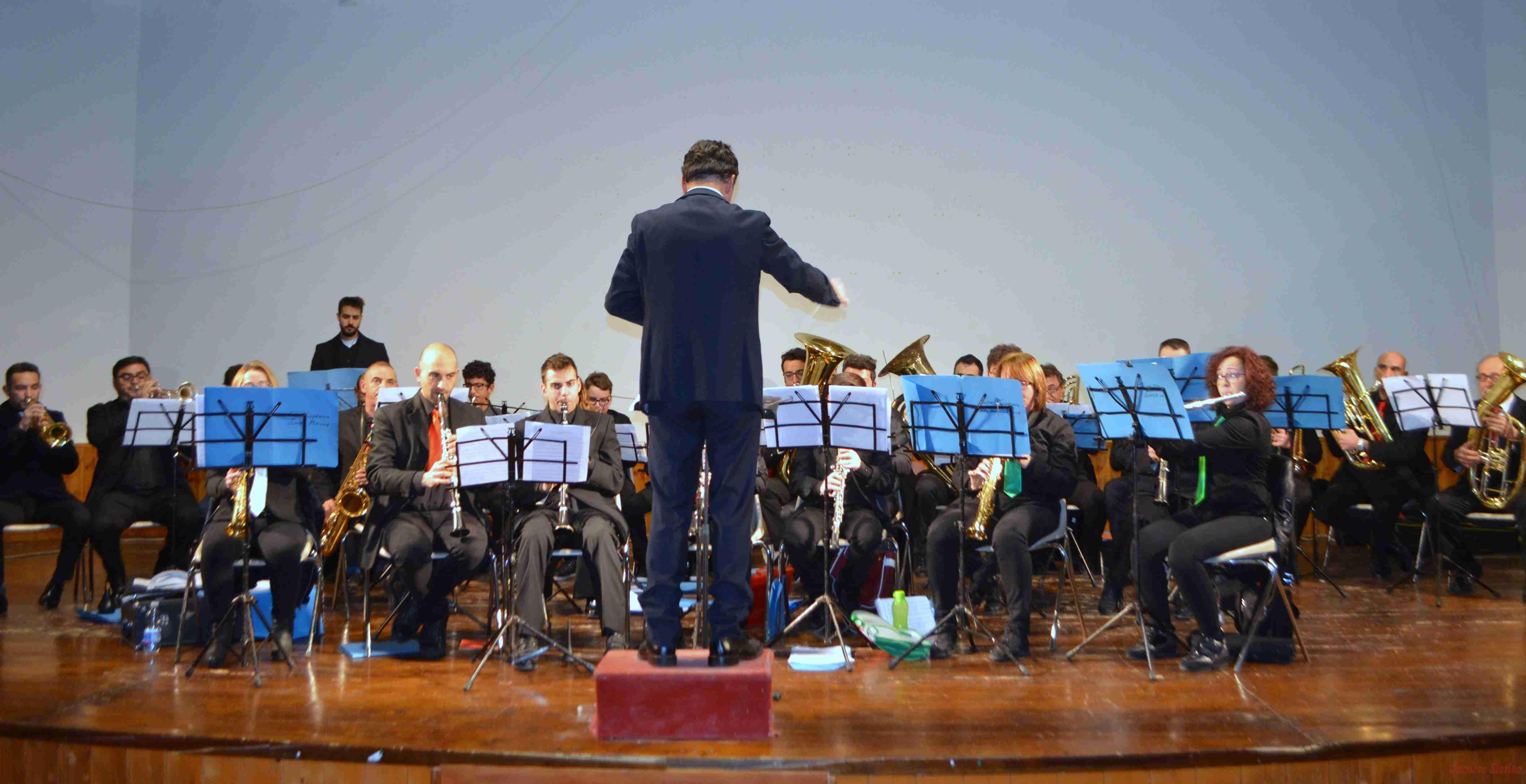 """Solenne il """"Concerto di Capodanno"""" della Banda Musicale  """"Vincenzo Bellini"""""""