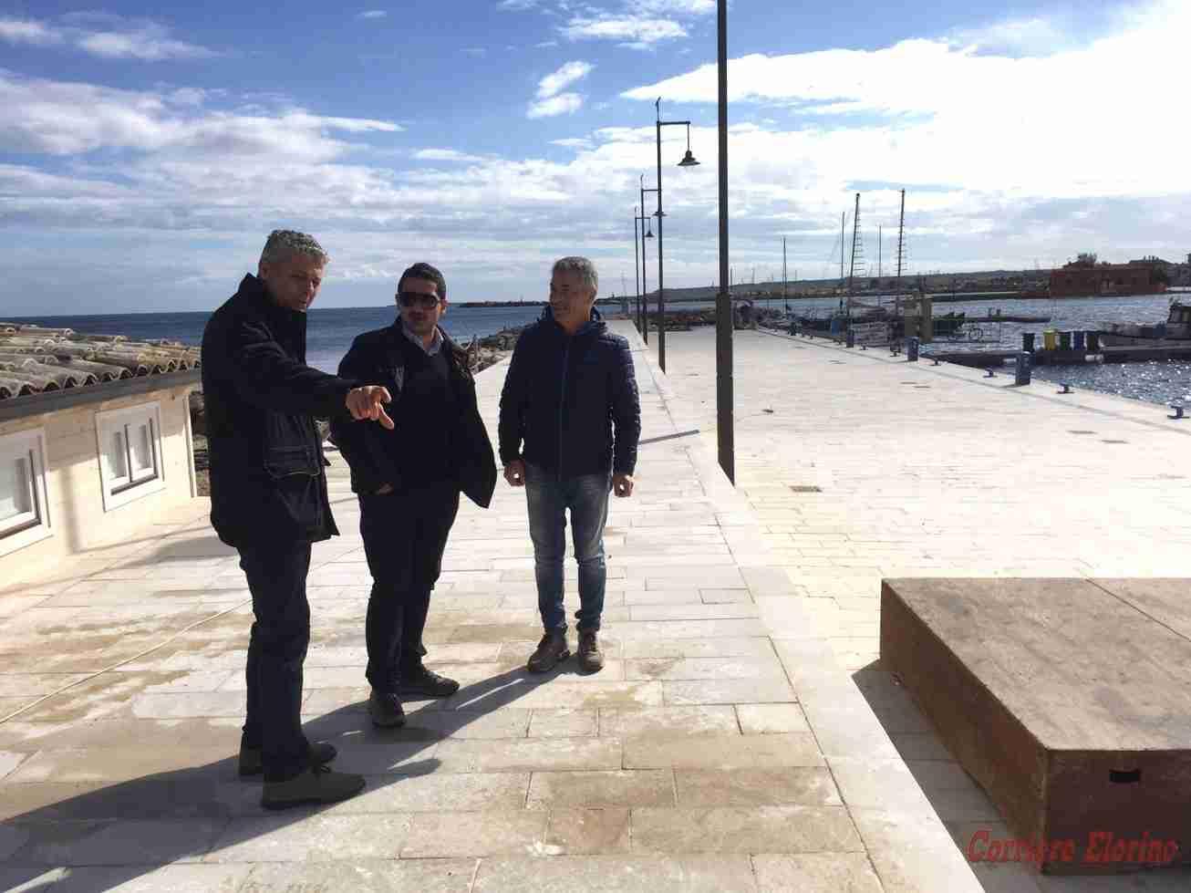 Il nuovo molo del porto Balata di Marzamemi sarà inaugurato domani