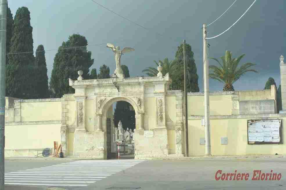 Cimitero Comunale, prorogata la chiusura pomeridiana a tutto il 10 settembre