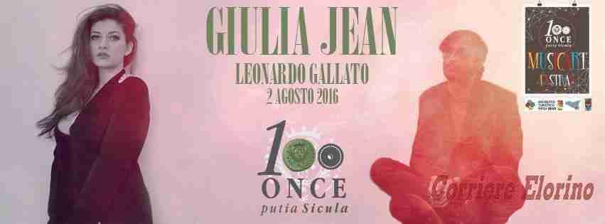 "Stasera al ""100 Once"" Giulia Jean e Leonardo Gallato"