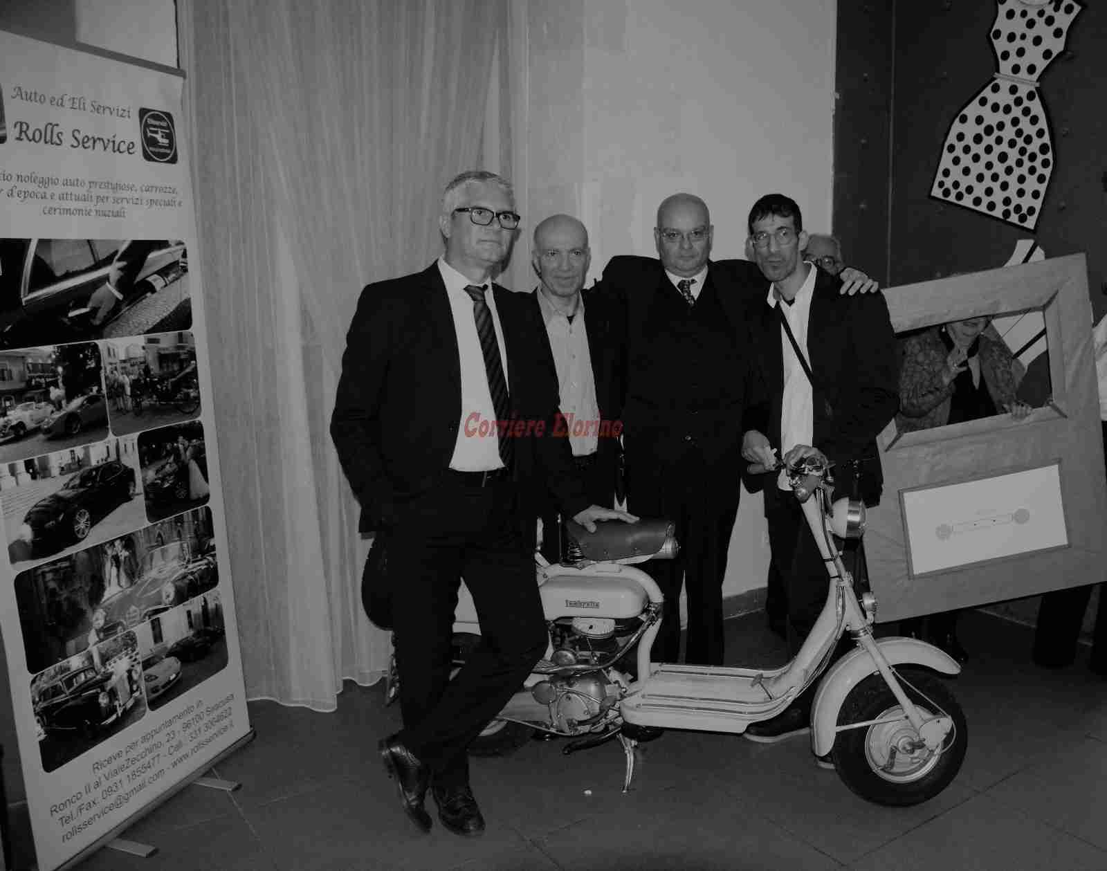 """""""Moto Club Lambretta Club Siracusa & Vespa Club Rosolini"""" al Retrò Party """"Gli anni 50"""""""