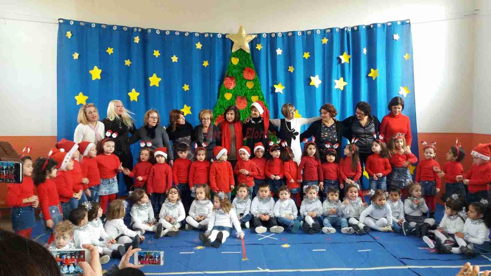 """Istituto Comprensivo """"F.D'Amico"""": un Natale speciale all'infanzia del Plesso """"S.Cuore"""""""