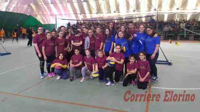Sesta edizione del Minivolley a Rosolini, una vera festa dello sport