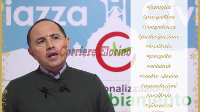 """""""Per Rosolini c'è speranza"""", il messaggio di fine anno di Pippo Incatasciato"""