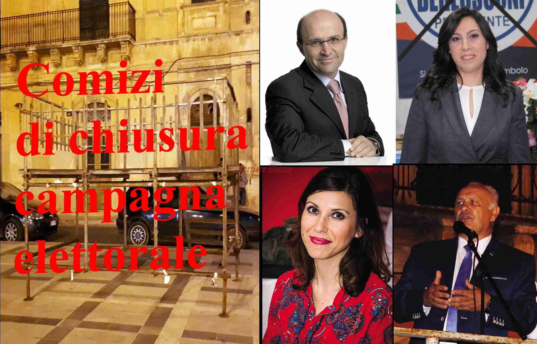 Domani in piazza Garibaldi i comizi conclusivi della campagna elettorale
