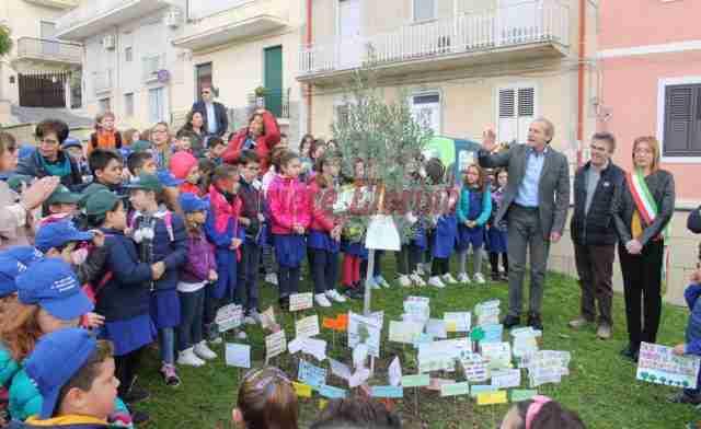"""Il grido del Santa Alessandra: """"Il futuro non si brucia"""", un albero per dire """"no"""" agli incendi"""