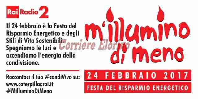 """""""M'illumino di meno"""", venerdì 24 febbraio dalle 18 alle 18,30 piazza Garibaldi rimarrà al buio"""