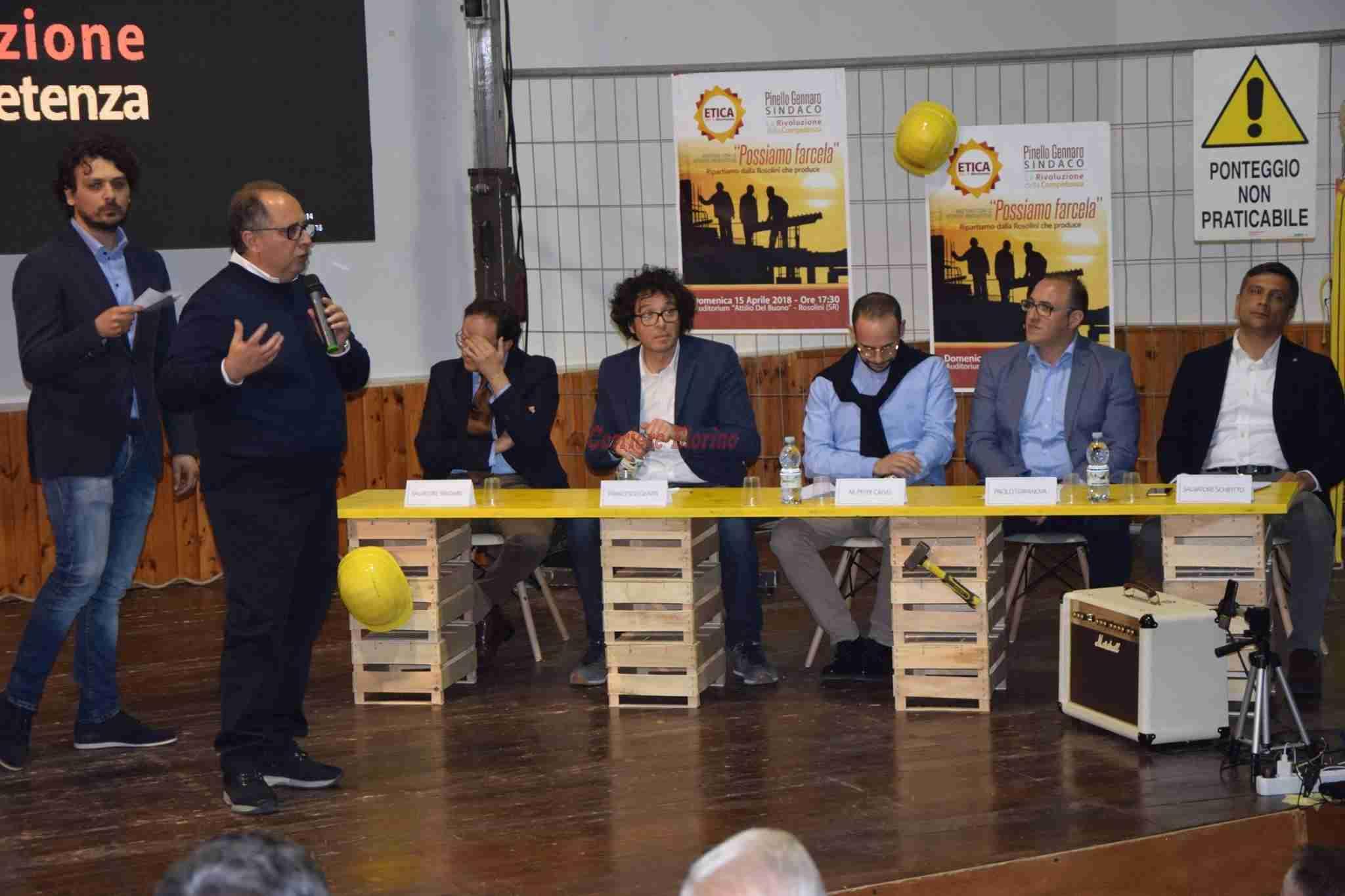 Pinello Gennaro: Etica è la speranza per questa città!