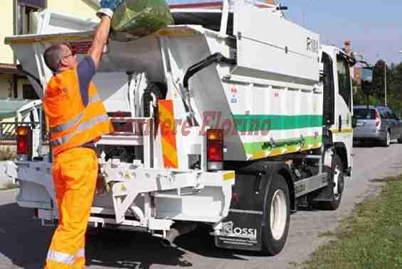 Raccolta rifiuti: sospeso il servizio per il festivo di domani 1°maggio
