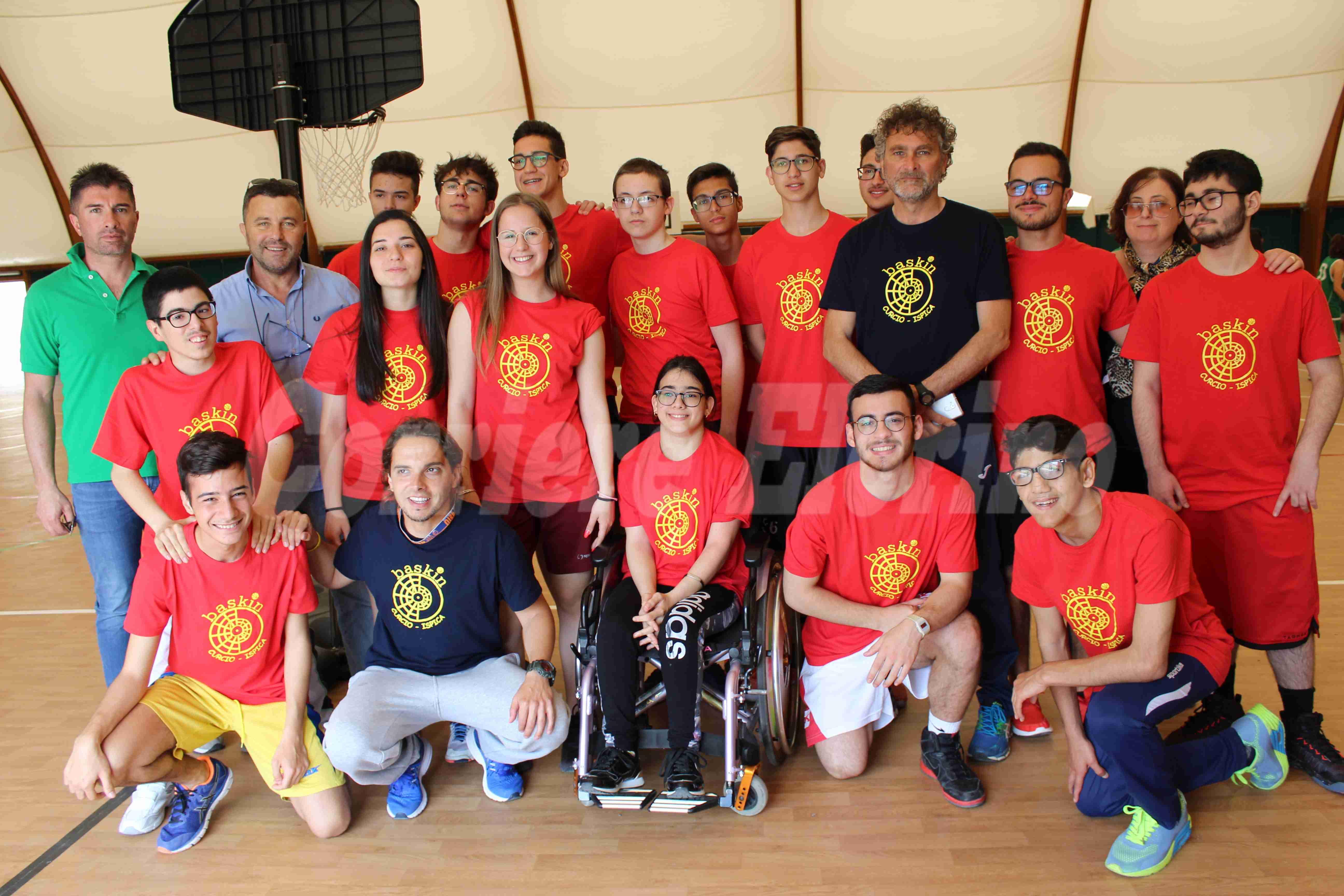 """Il """"Curcio"""" di Ispica presente al Torneo/Laboratorio Regionale di Baskin"""
