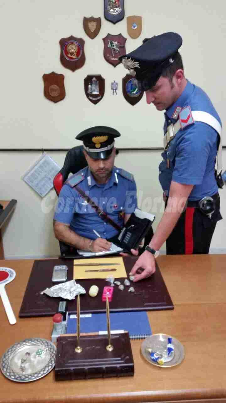 Trovato con 60 grammi di marijuana, arrestato giovane rosolinese