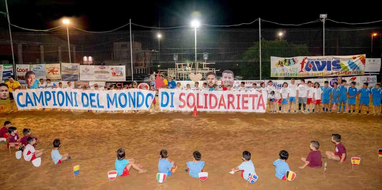 """Beach soccer """"Avis"""", campioni del mondo… di solidarietà"""