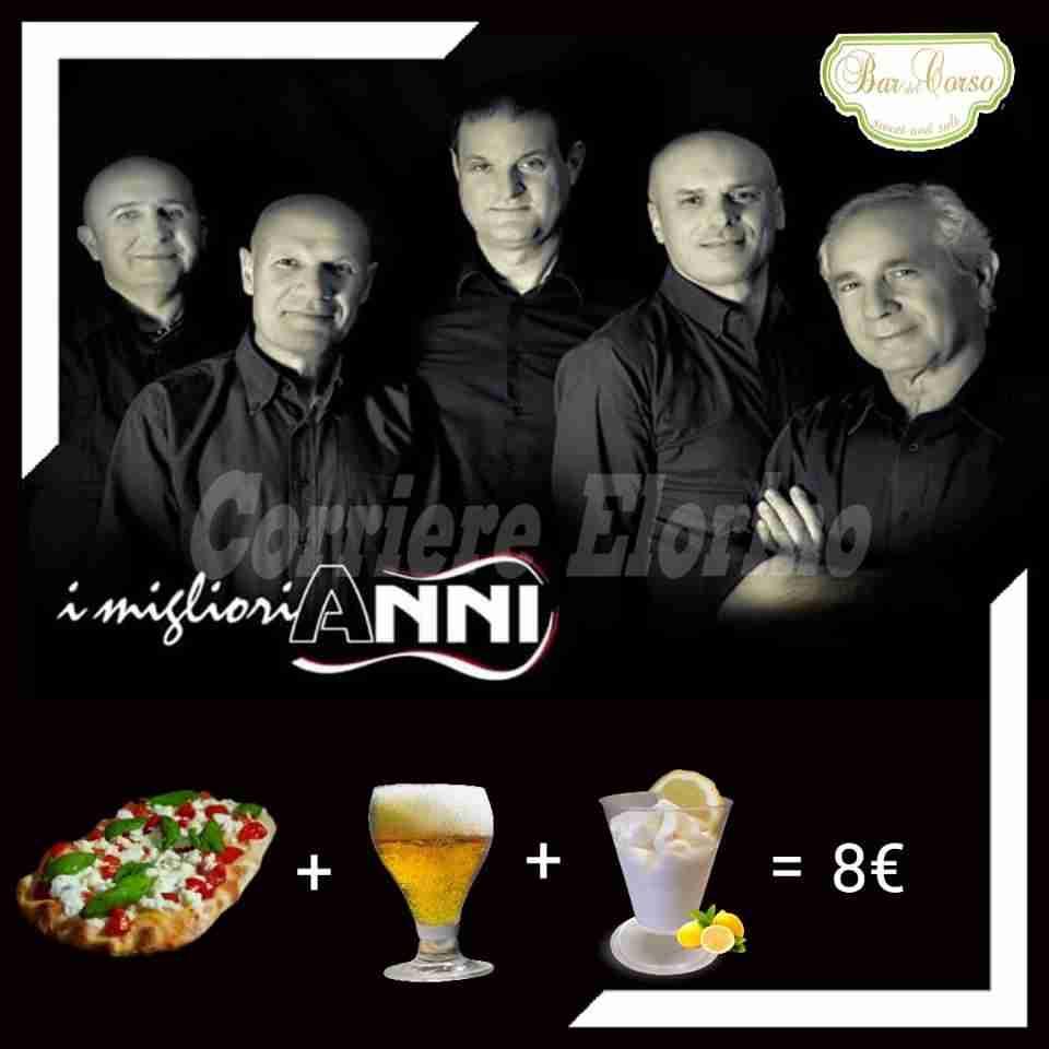 """Sabato sera,su prenotazione,Street Pizza e musica al """"Bar del Corso"""""""