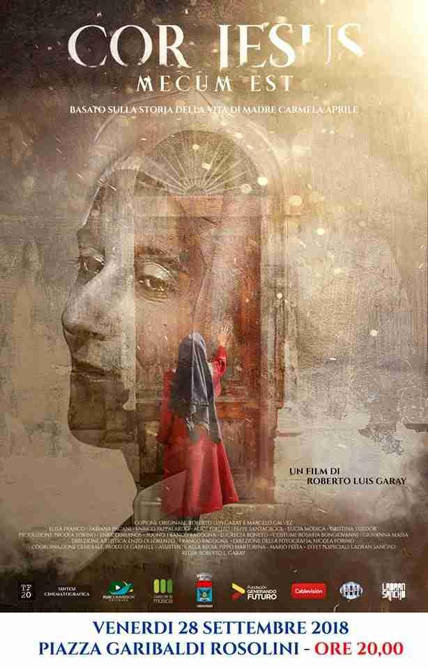 """""""Cor Jesus Mecum Est"""", il film su Madre Carmela Aprile sarà proiettato il 28 settembre"""