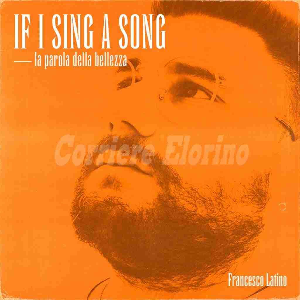 """Francesco Latino canta l'inedito """"If a sing a song"""": un rap sulla bellezza che il Vescovo di Noto dona ai """"Ferragnez""""."""