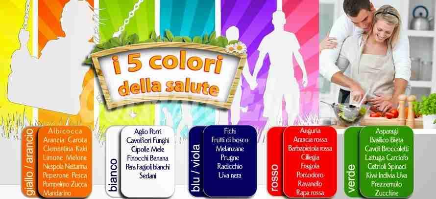 Tutti i colori della salute, scopriamo i benefici