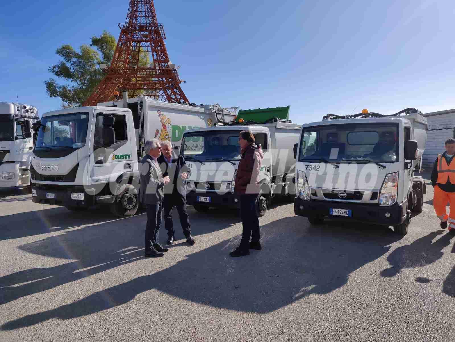 Avola, inaugurati altri 3 mezzi elettrici per il servizio di spazzamento