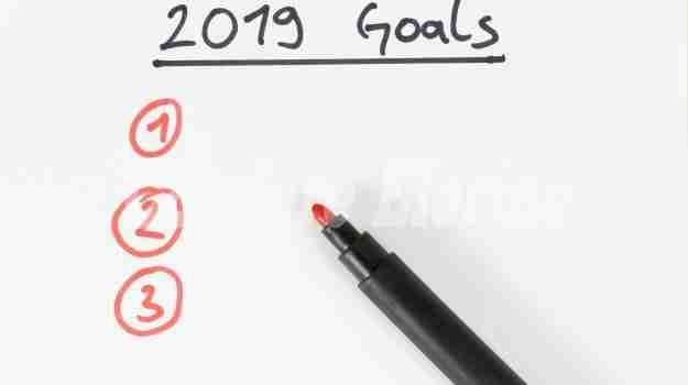 Come raggiungere i buoni propositi per il 2019?
