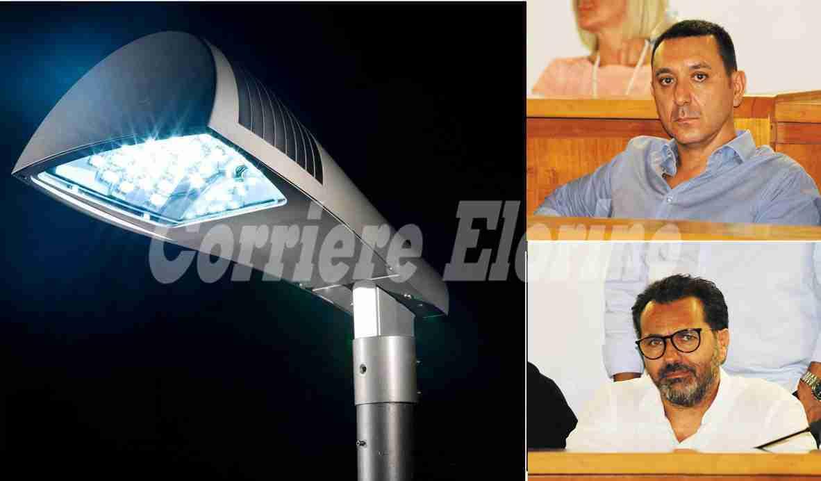 """Illuminazione, 1.000.000 di euro perso, Roccasalvo: """"Capre, capre, capre"""". Di Stefano: """"Faremo ricorso"""""""