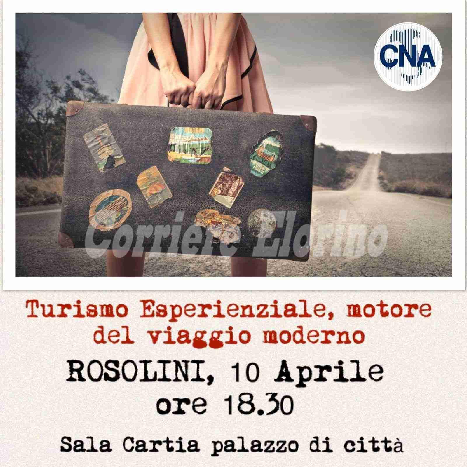 """""""Puntiamo al turismo esperienziale""""; il 10 aprile Cna Rosolini lancia il suo progetto"""