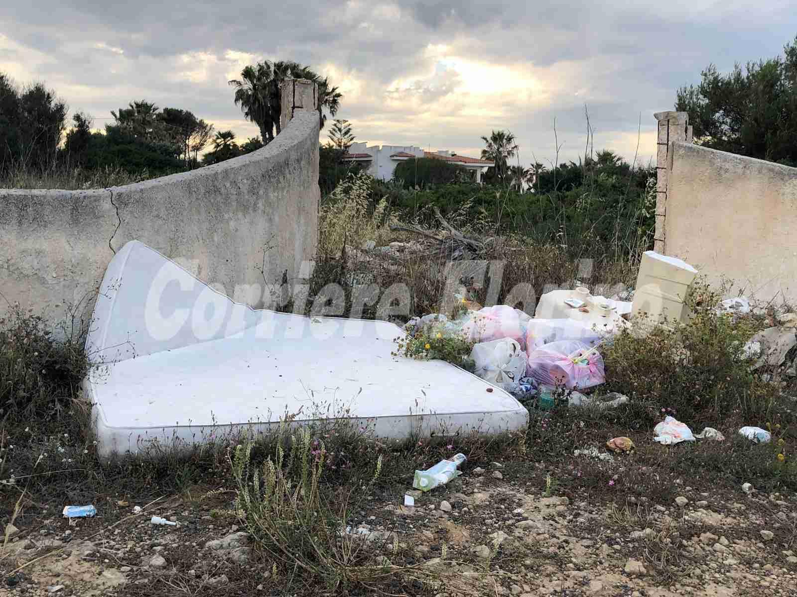 Avvio pulizia delle zone marittime San Lorenzo e Reitani ma persiste il fenomeno delle discariche abusive
