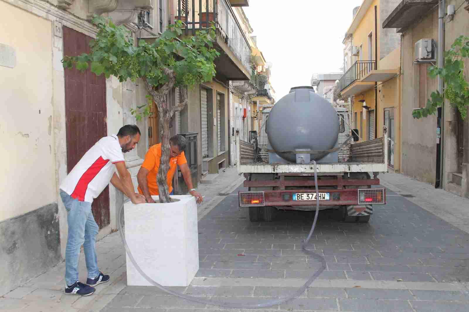 Piante mai più a secco con la nuova cisterna di Città Verde