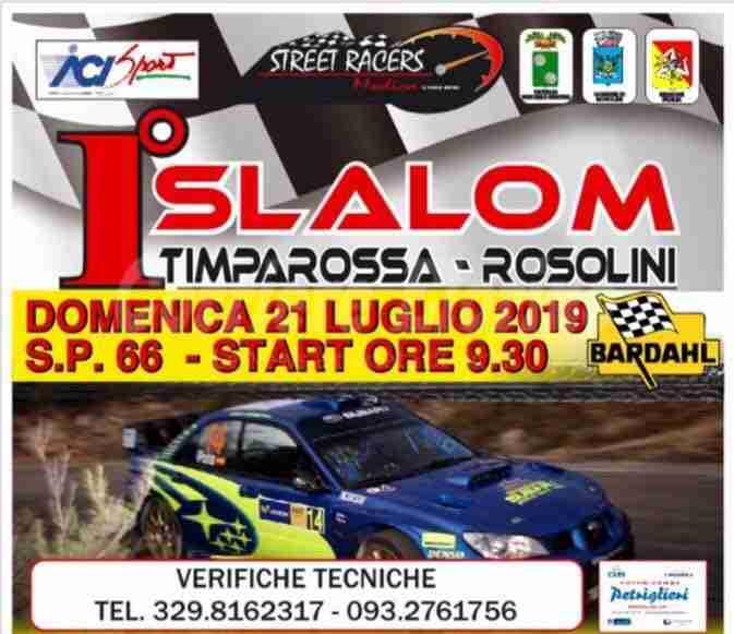 """Da domani il """"1° Slalom Timparossa"""": programma e orari"""