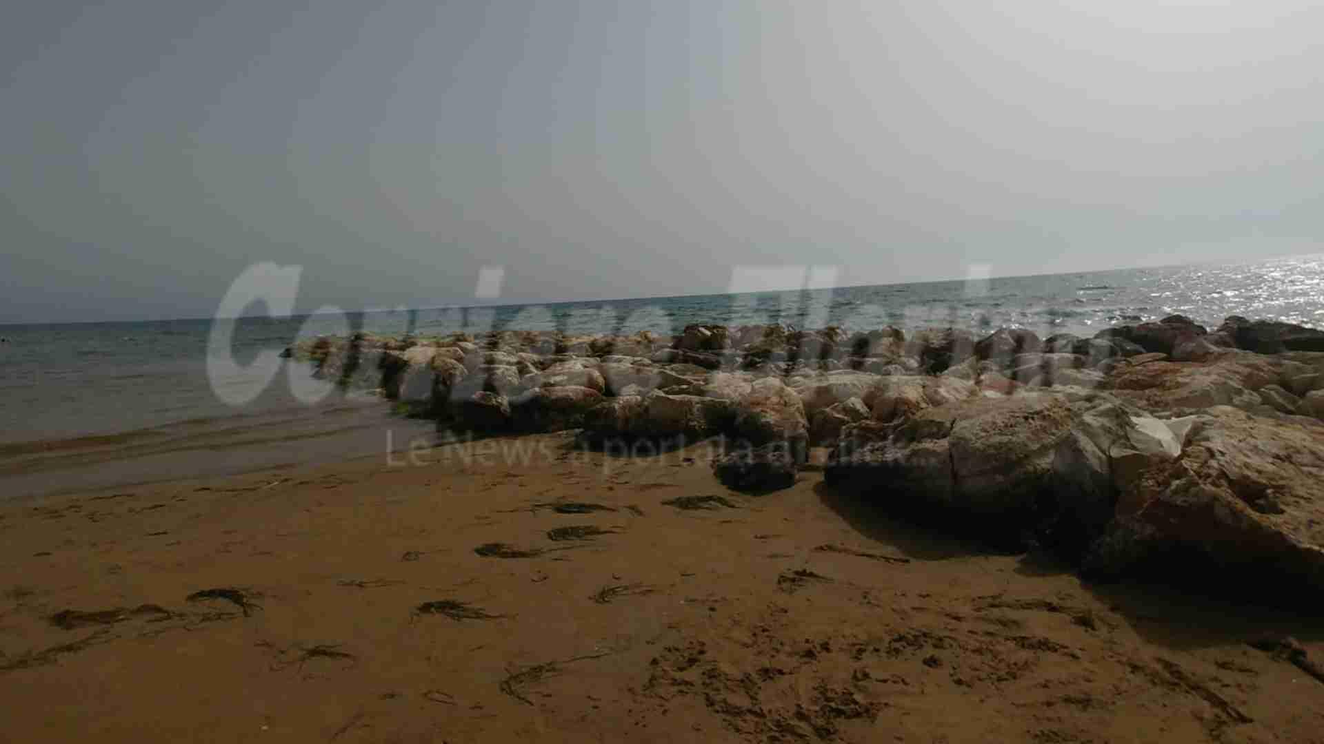 Ancora pericolo vicino i frangiflutti della Marza: altra tragedia scampata