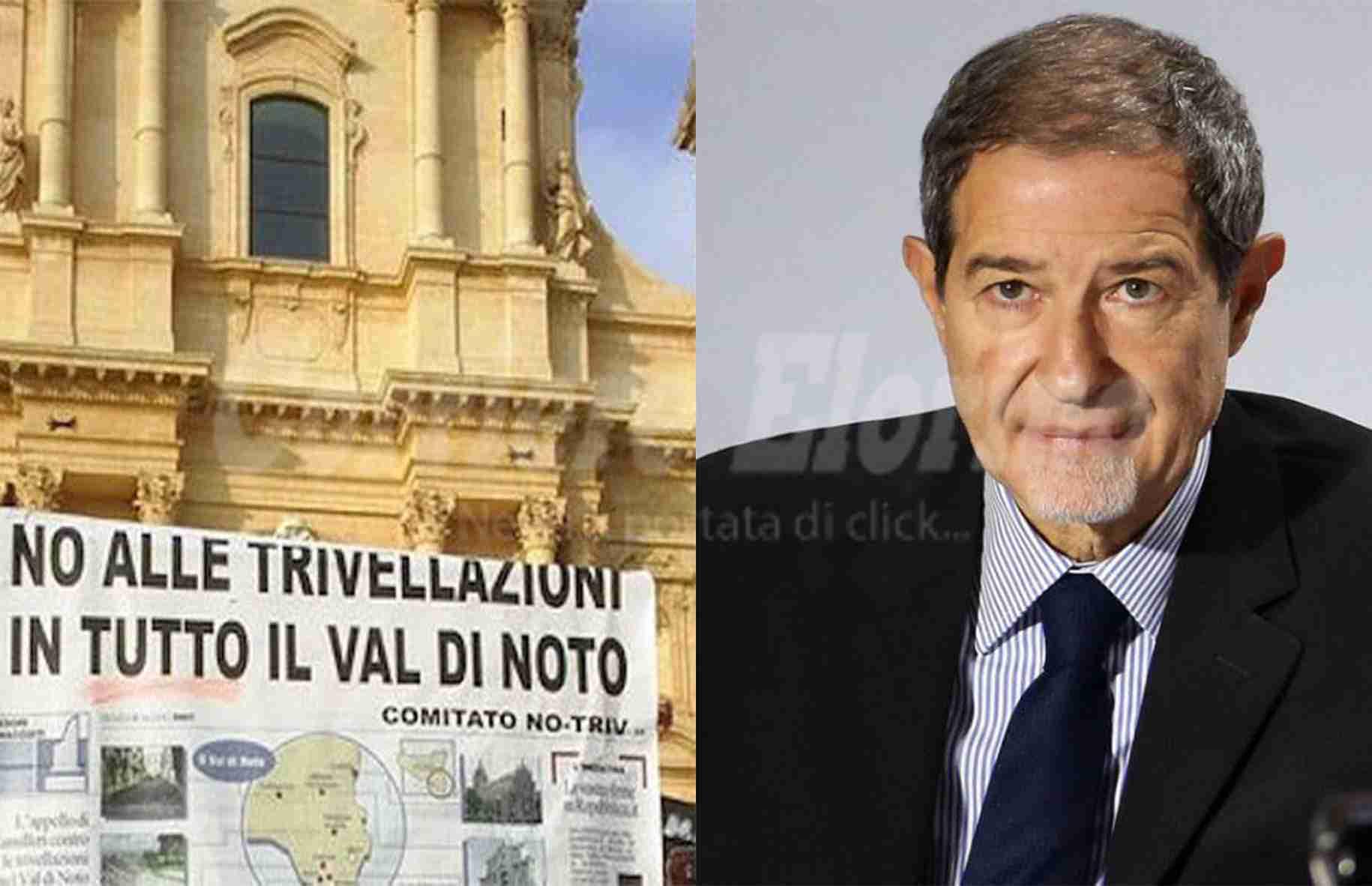 """Il Comitato No Triv scrive al Presidente Musumeci: """"Un passo indietro ora o sarà troppo tardi"""""""