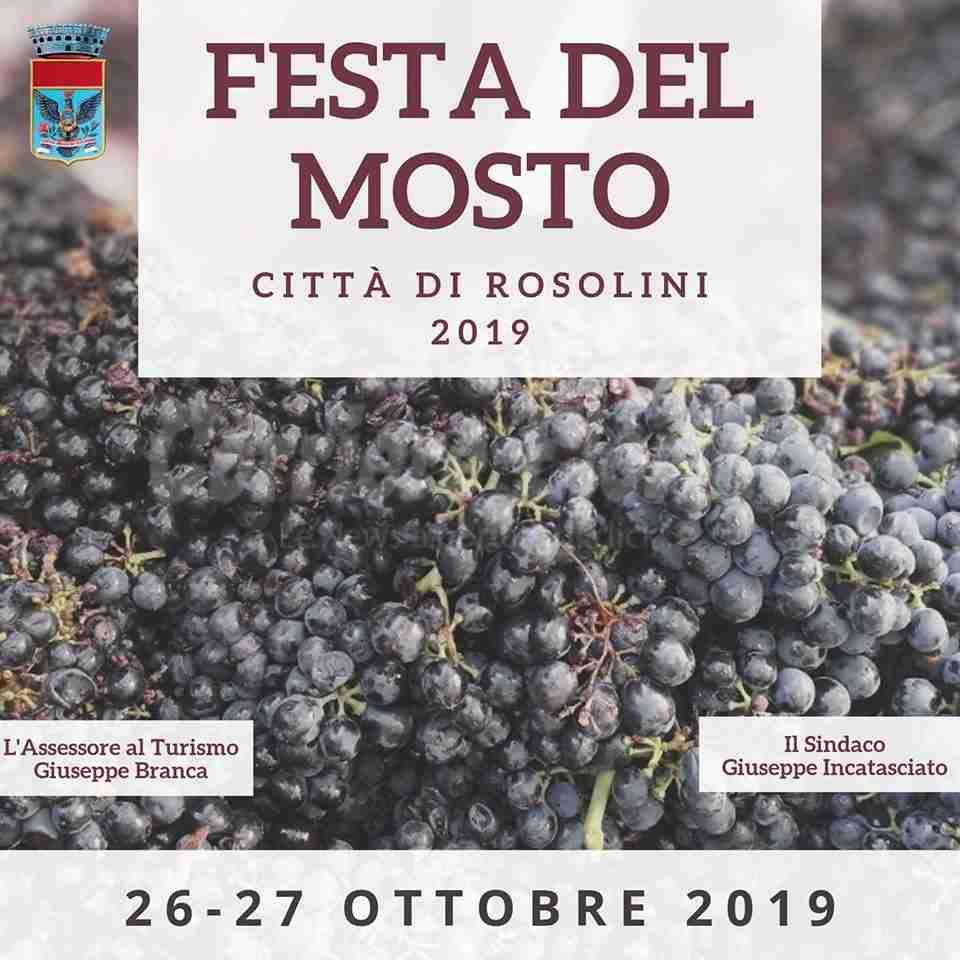 Festa del Mosto: a Rosolini i prodotti dell'Azienda agricola Nevola di Noto