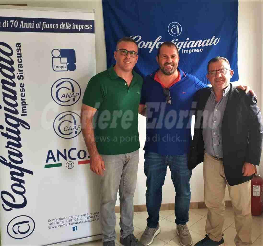 Confartigianato, l'avolese Vincenzo Coffa nuovo presidente della categoria Edili