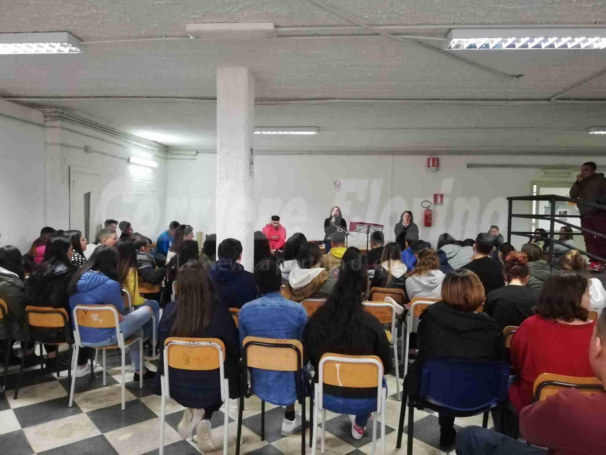 25 novembre, all'Alberghiero una partecipata lezione di rispetto e di educazione alla parità