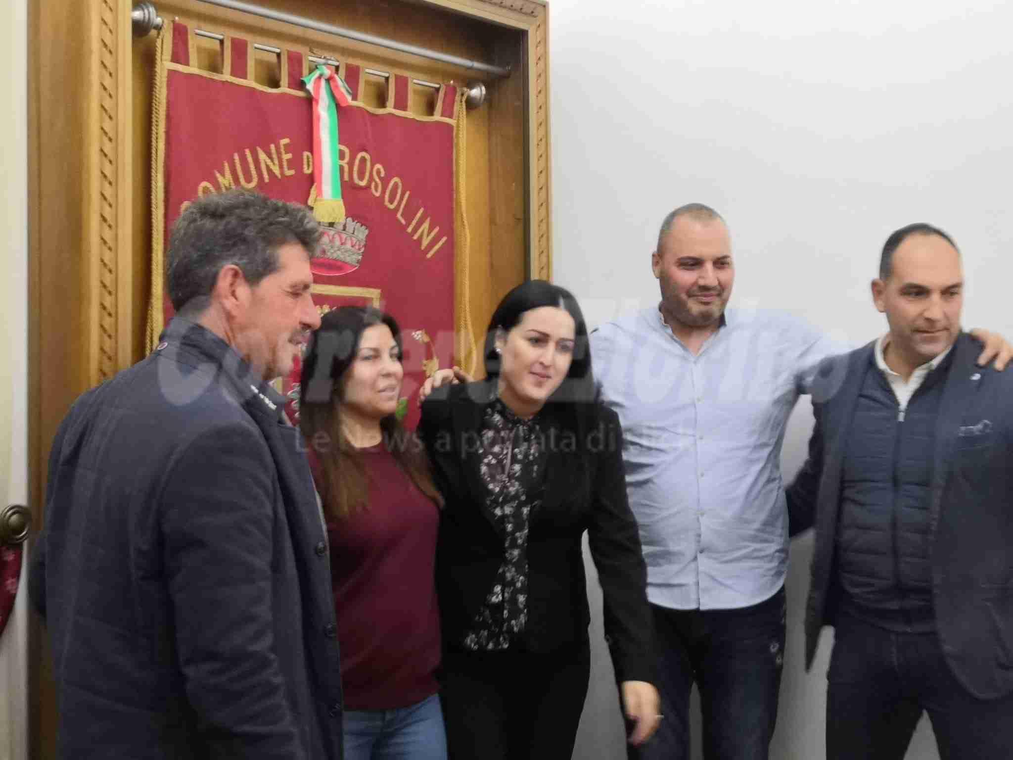 Rosina Collemi nuovo assessore alla Pubblica Istruzione del Comune di Rosolini
