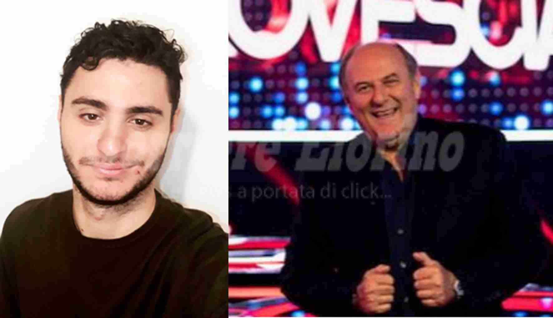 """Il rosolinese Federico Poidimani a """"Conto alla Rovescia"""", il nuovo quiz di Gerry Scotti"""