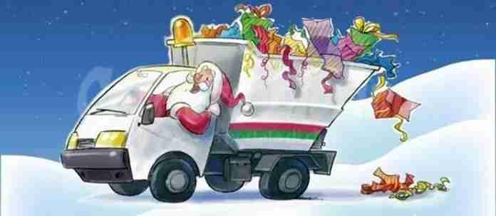 Raccolta rifiuti nelle festività natalizie, cambia solo il giorno della raccolta della carta