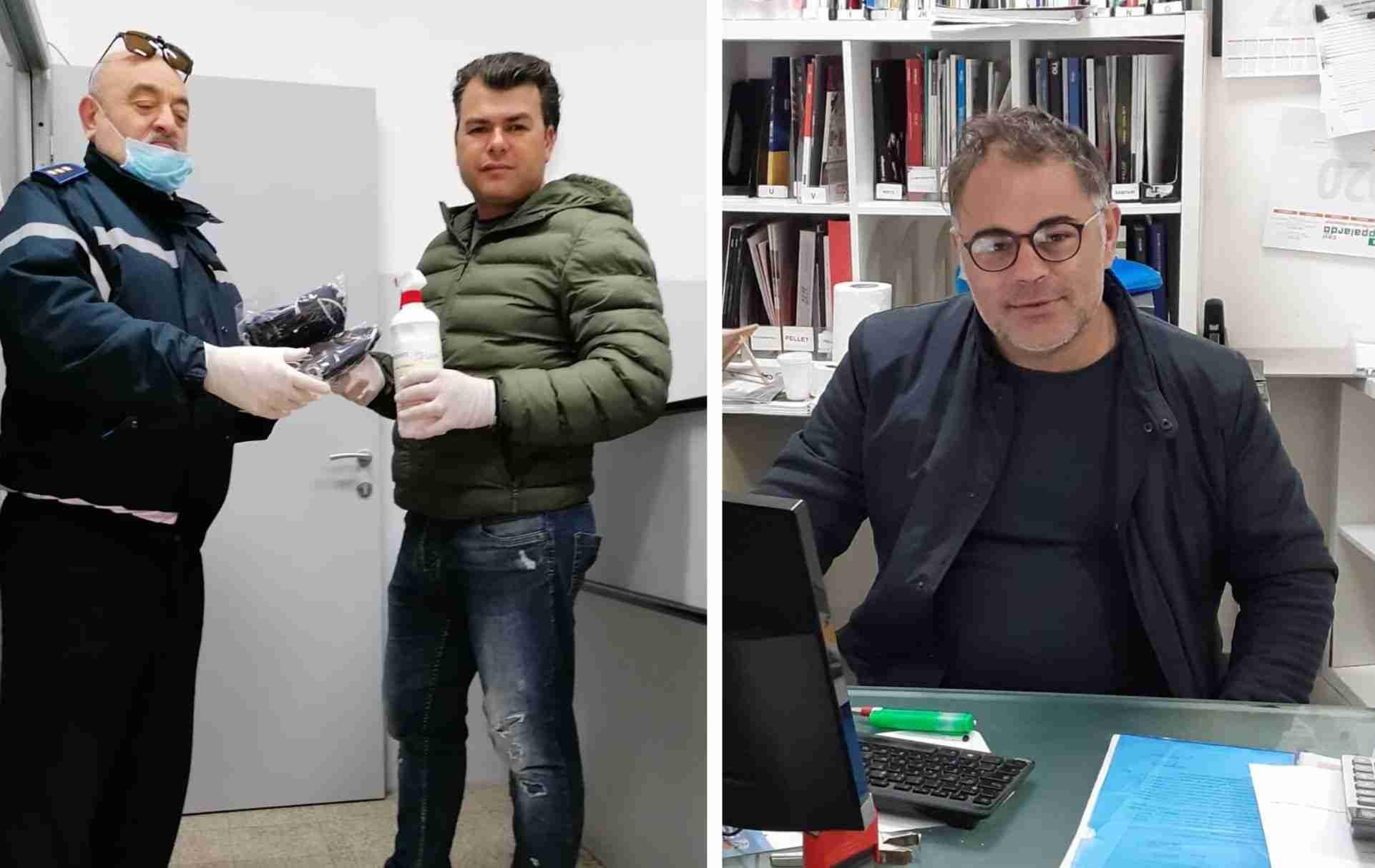 Coronavirus – 200 mascherine e gel igienizzante a Carabinieri e Vigili: il dono di una ditta di Rosolini