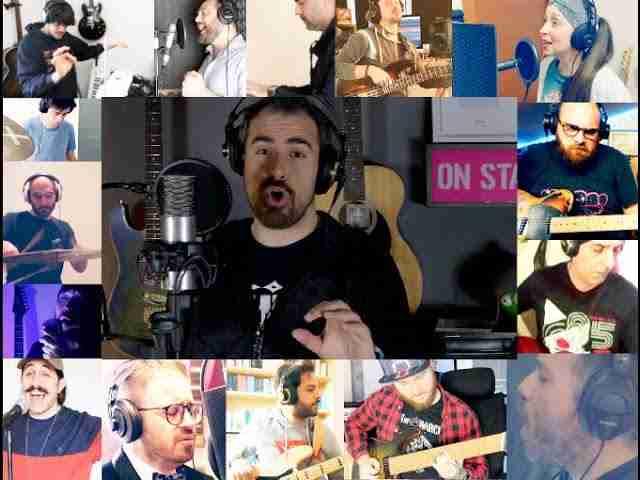 18 amici da tutta Italia intonano il Nessun Dorma di Puccini: un video di raccolta fondi che ha emozionato l'Italia, tra gli artisti pure un rosolinese