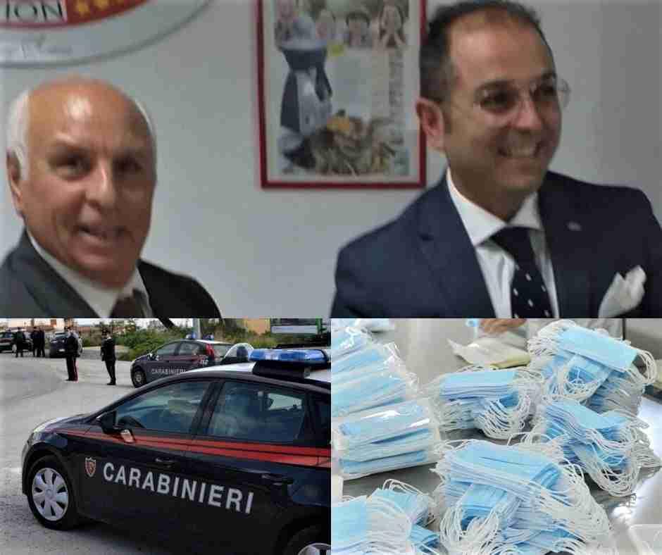 Coronavirus – I rosolinesi Salvatore e Luigi Sortino donano 50 mascherine ai Carabinieri