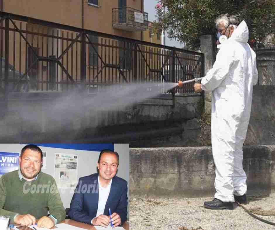 """Coronavirus – La Lega chiede una """"vera"""" sanificazione della Città"""