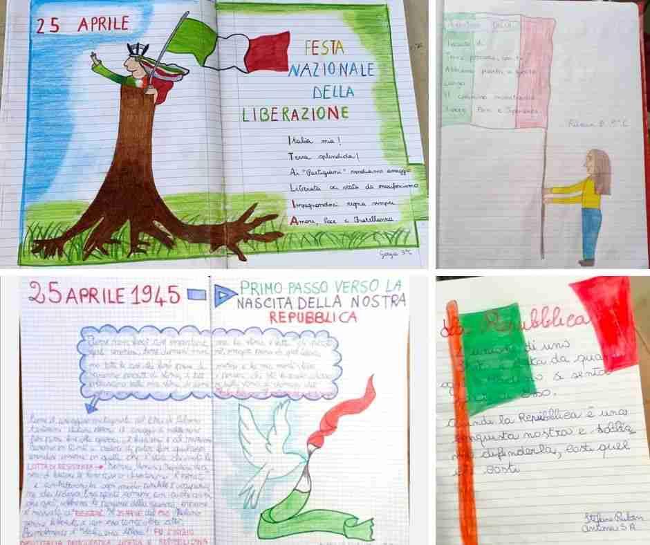 """Coronavirus – Come, anche a distanza, la scuola """"S.Alessandra"""" celebra la Festa della Liberazione"""