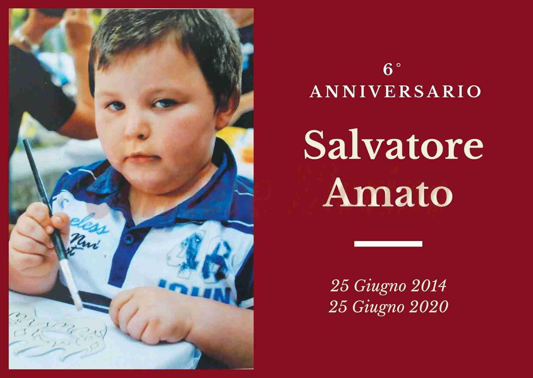 Necrologio: ricorre oggi il 6° Anniversario del piccolo Salvatore Amato