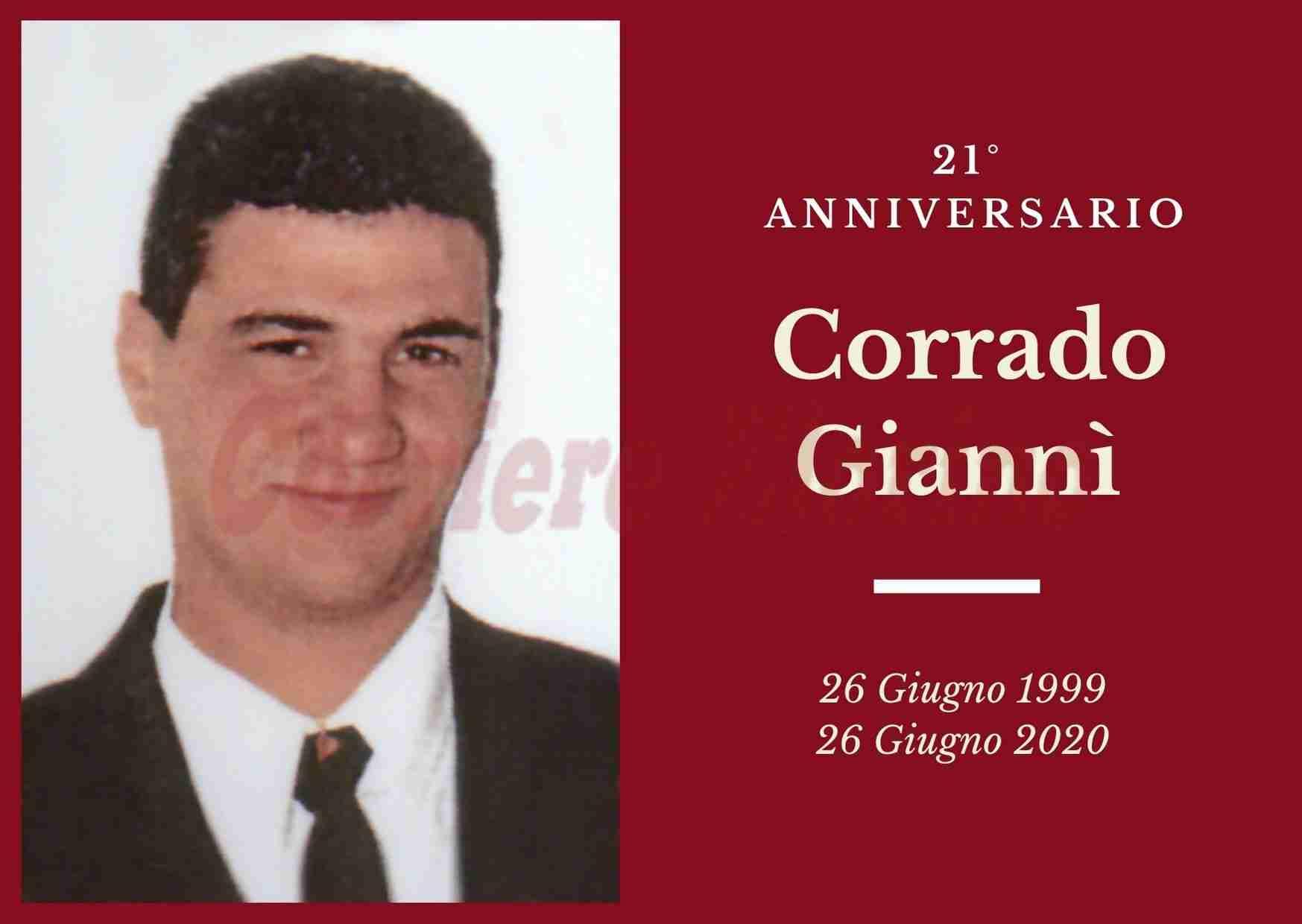 Necrologio: ricorre oggi il 21° Anniversario di Corrado Giannì
