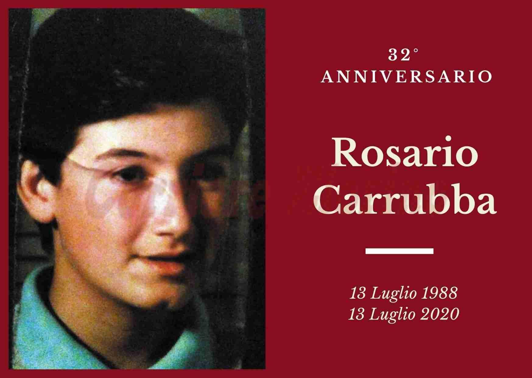 Necrologio: ricorre oggi il 32° Anniversario di Rosario Carrubba